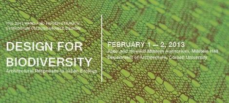 Design for Biodiversity Symposium