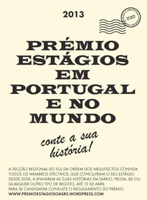 Estágios em Portugal e no Mundo