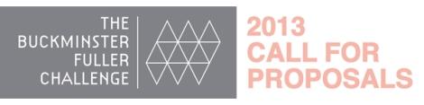 2013 Buckminster Fuller Challenge