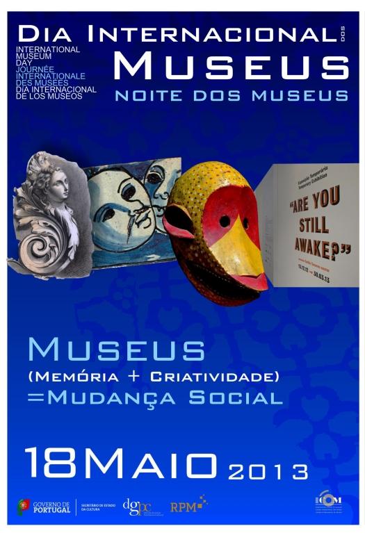 18 de maio - Dia Internacional dos Museus - Noite dos Museus