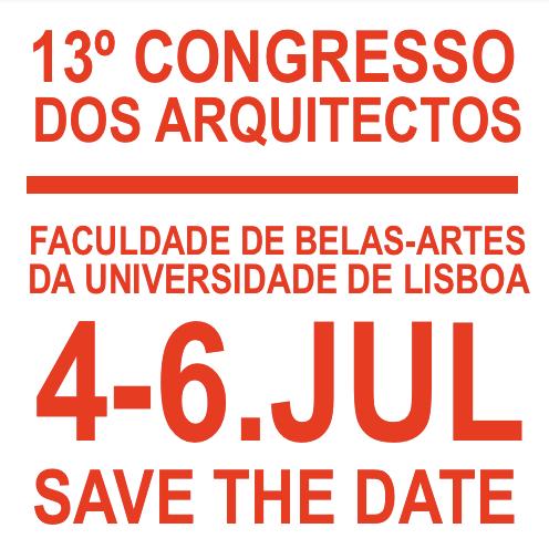 13º Congresso dos Arquitectos