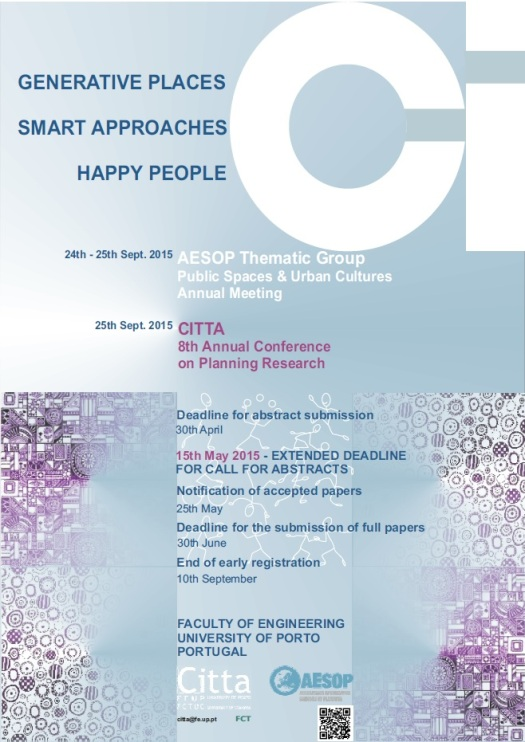 CITTA 8th Annual Conference on Planning Research